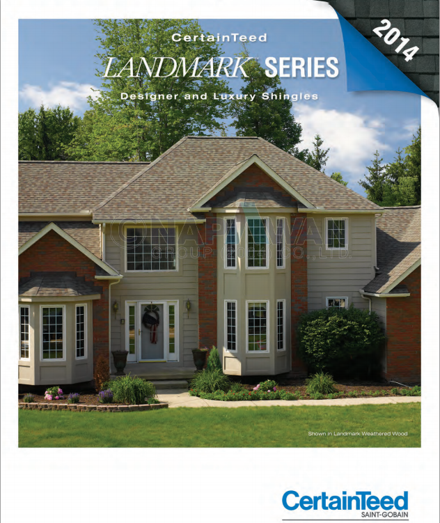 New Shingle Catalog