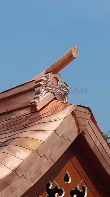 หลังคา,ทองแดง,หลังคาทองแดง,copper roof